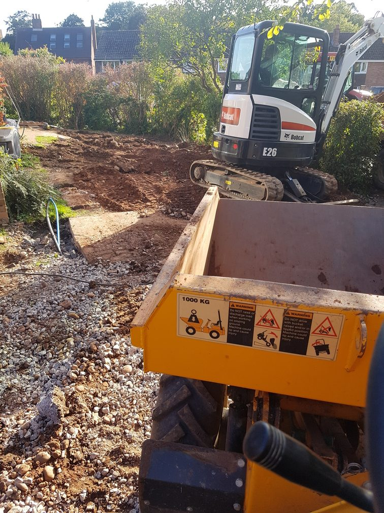 Groundwork and Landscaping